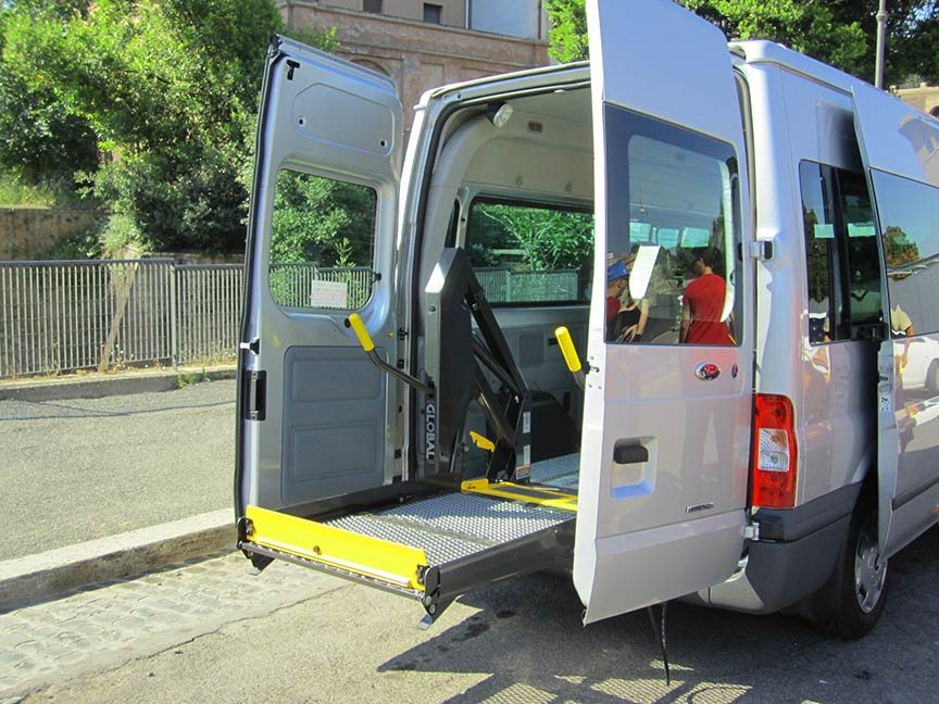 Accessible Transfer Italy car