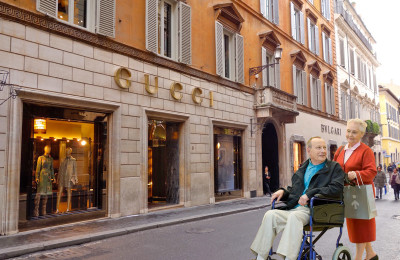 Accessible Florence shopping tour