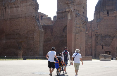 Accessible tour Baths of Caracalla