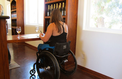 Accessible wine tasting in Rome