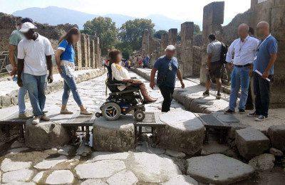 Accessible Pompeii tour