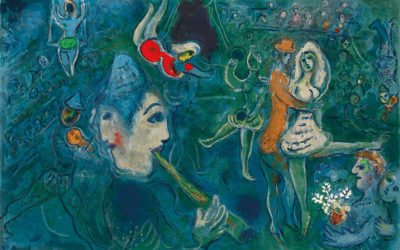 Dream and magic: Chagall exhibition in Bologna