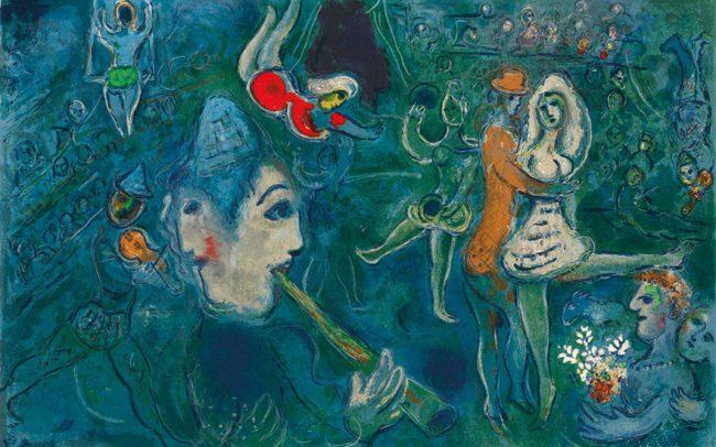 Dream and magic: Chagall exhibition in Bologna