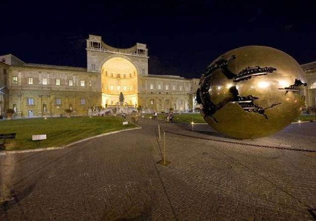 A night at the Vatican Museums