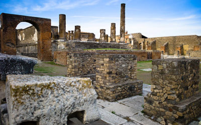 Archaeological Park of Pompeii : founded two devices of the Second World War