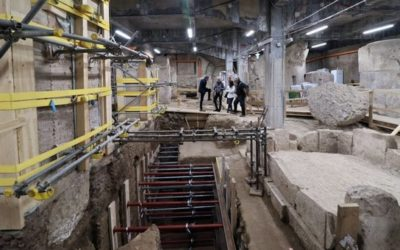 Rome: Basilica of Massenzio, the medical laboratory of Galen resurfaces