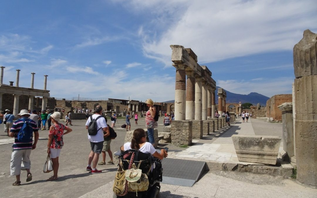 Accessible tour in Pompeii
