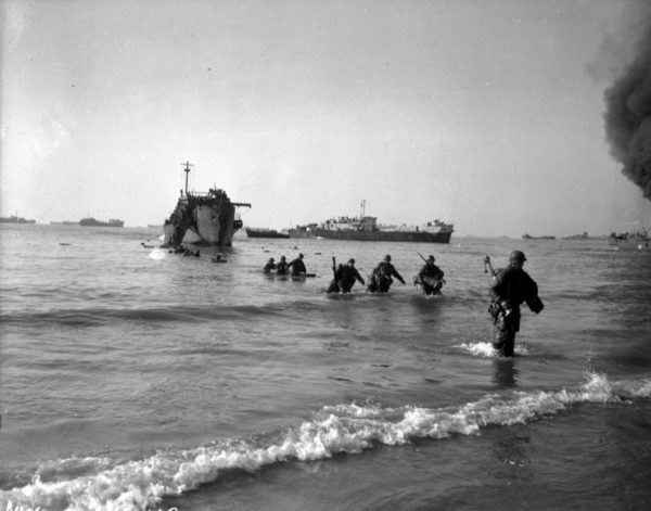 Anzio: going back to 1944