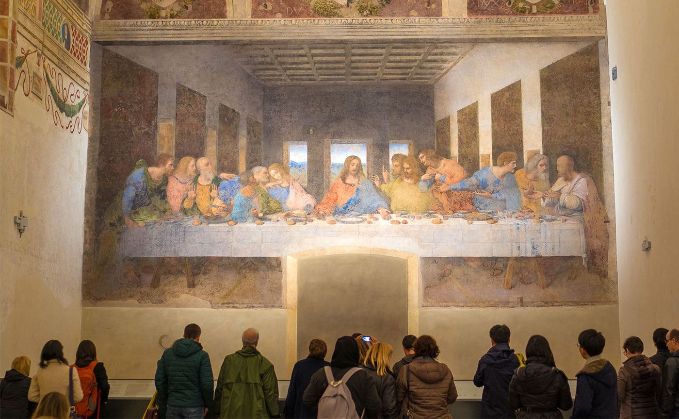 The Last Supper of Leonardo Da Vinci Tour – Milan 02-min