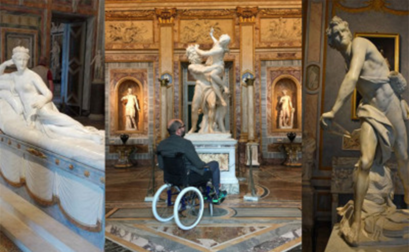 Accessible Rome - Borghese Gallery Tour 01