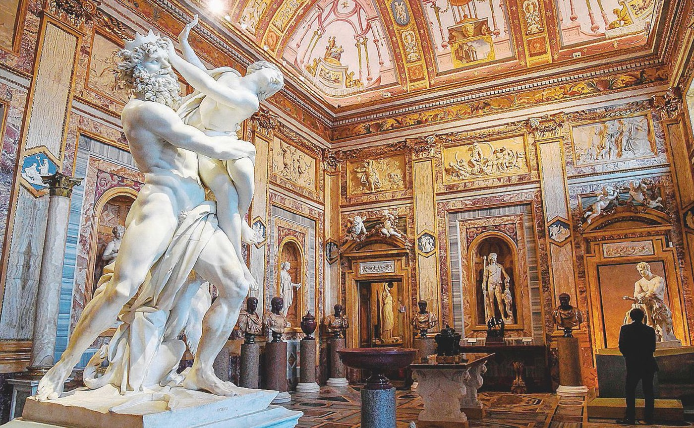 Accessible Rome - Borghese Gallery Tour 02