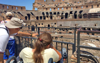 Accessible Colosseum and Imperial Rome
