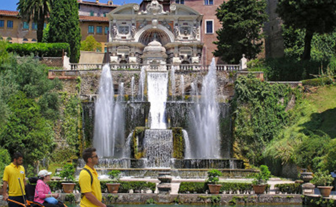 Accessible Tivoli – Villa d'Este tour 01