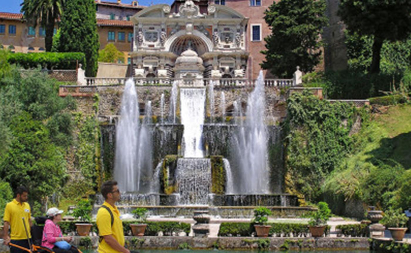 Accessible Tivoli – Villa d'Este tour 01