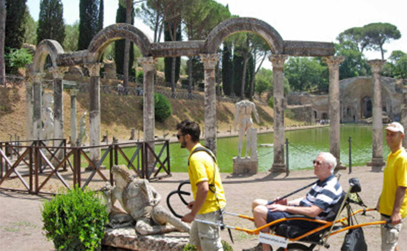 Accessible Tour of Villa Adriana – Tivoli 01