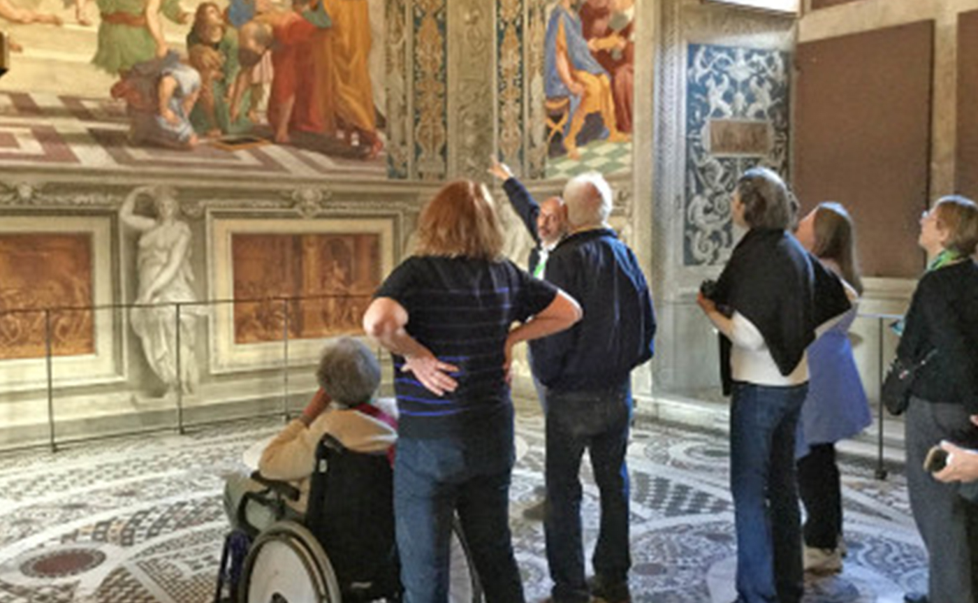 Accessible Vatican Museum and Sistine Chapel tour 01