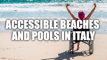 Accessible beaches and pools in Italy
