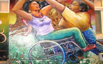 Art and disability when barriers do not exist