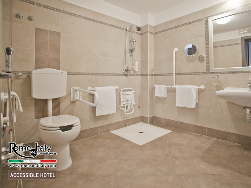 Accessible hotel italy