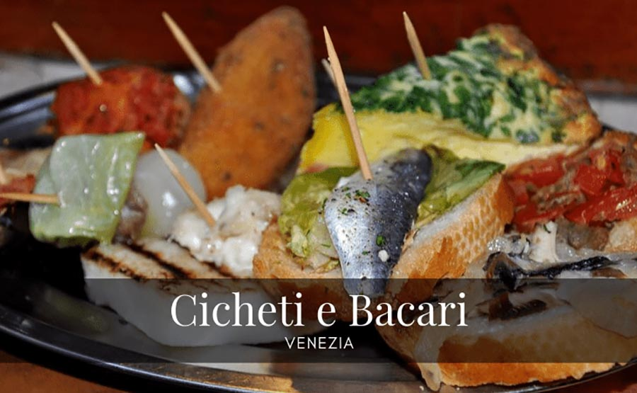 ACCESSIBLE ITALIAN FOOD TASTING TOUR - VENICE Cicheti-e-bacari-a-Venezia
