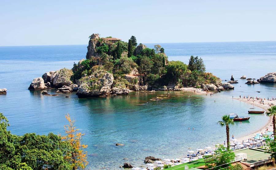 TAORMINA AND NAXOS GARDENS ACCESSIBLE TOUR - SICILY