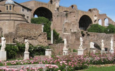 The accessible house of Vestal reopens inside the Roman Forum, Rome