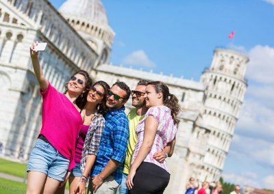 Pisa travel incentive - Rome and Italy
