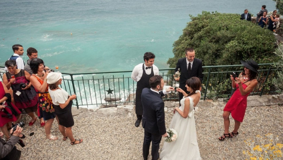 Helene and Pierre Wedding - Rome and Italy 5