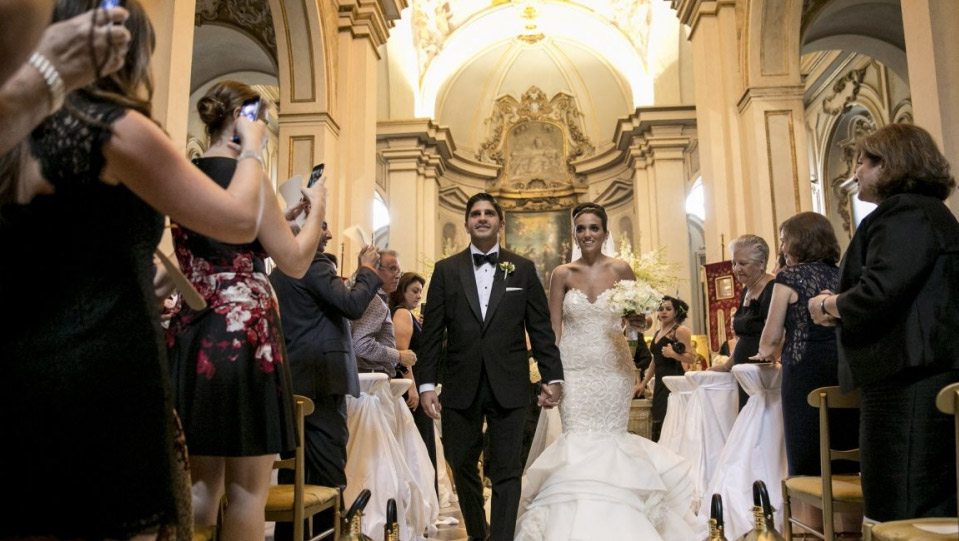 Luise and Robert Wedding - Rome and Italy 2