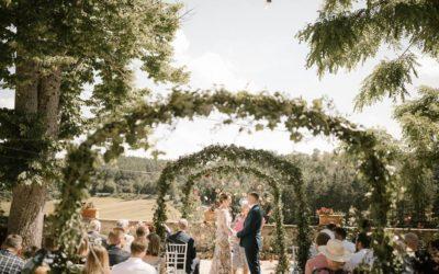 Green wedding in Italy