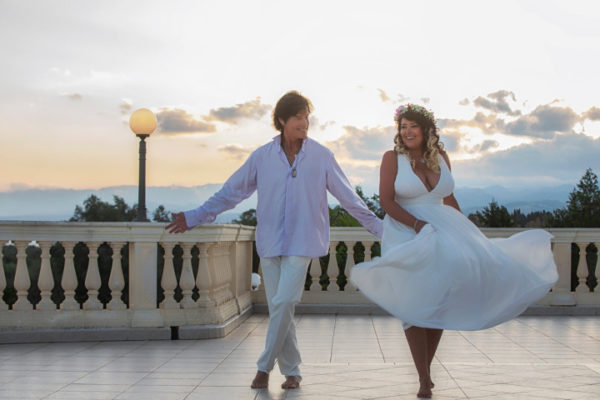 Ronn Moss chose Italy for the vows renewal