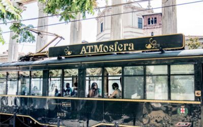 'ATMosfera' tram restaurant: elegance, taste and tradition in Milan