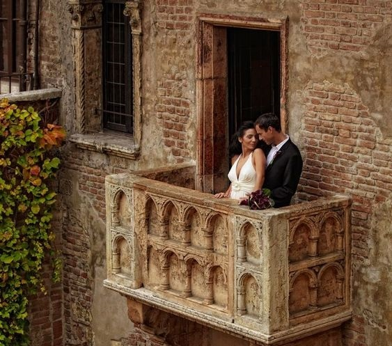 Verona, a dream wedding in the House of Juliet