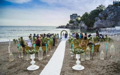 Seaside wedding
