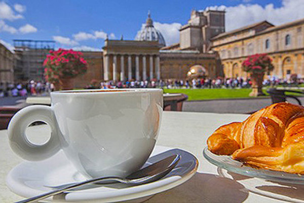 Vatican Museums Early Entrance with Breakfast – Rome