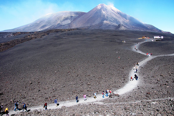 Walking Tour Etna Volcano