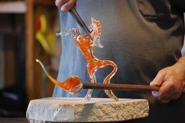 Glass Workshop in Venice