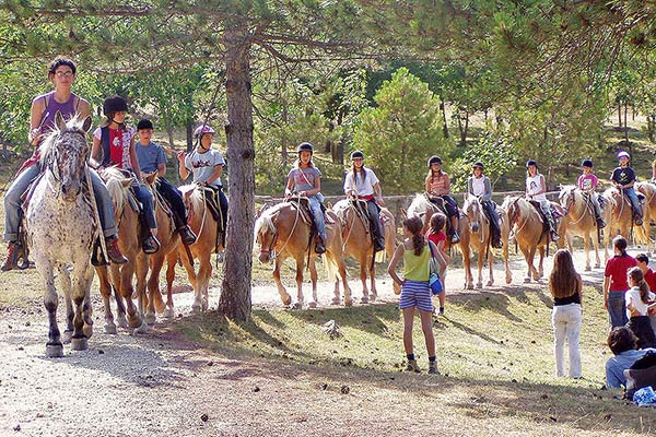 Horse Riding in Tuscany for Kids