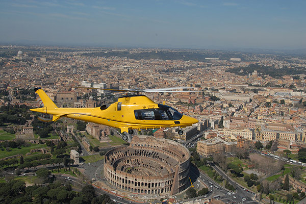 Helicopter Tour – Rome