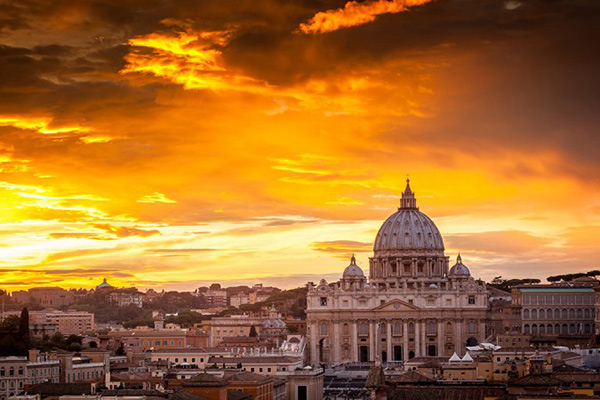 The Best sunset views of Rome