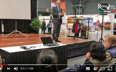 A pill of our speach at New York Times Travel Show
