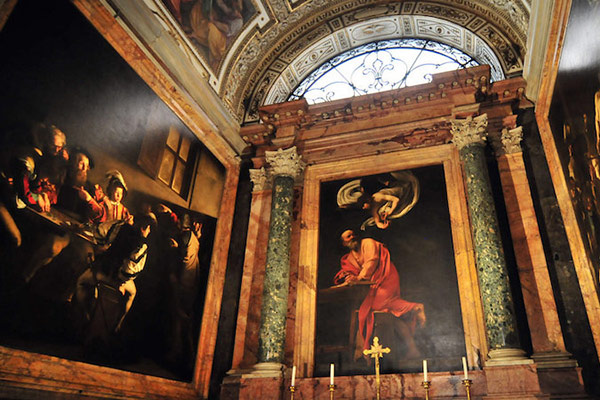 Caravaggio Tour – Rome