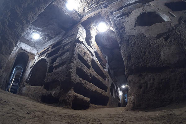 Catacomb of Saints Peter and Marcellinus Tour