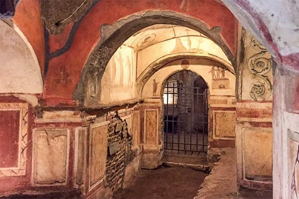 Catacombs of Priscilla Tour