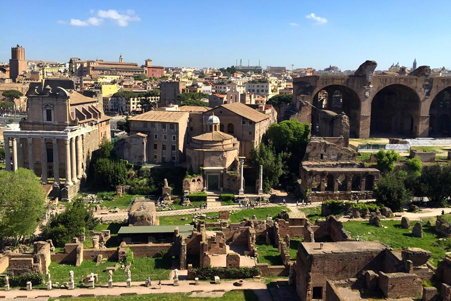 Colle Palatino - Rome and Italy
