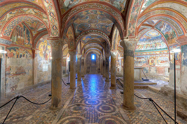 Crypt of Anagni Tour – Anagni