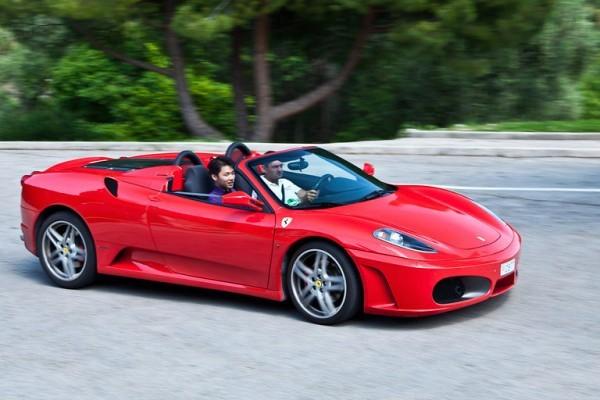Ferrari ride – Rome tour