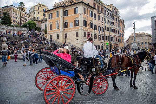 Horse Carriage Tour – Rome