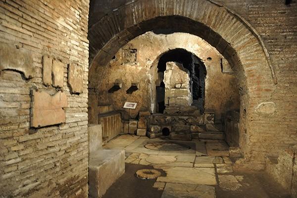 Mithraeum of Circus Maximus – Underground Rome