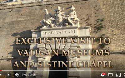 Exclusive visit to Vatican Museums and Sistine Chapel after the closed time